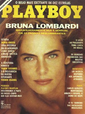 Playboy Brazil - March 1991
