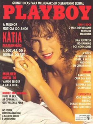 Playboy Brazil - April 1991