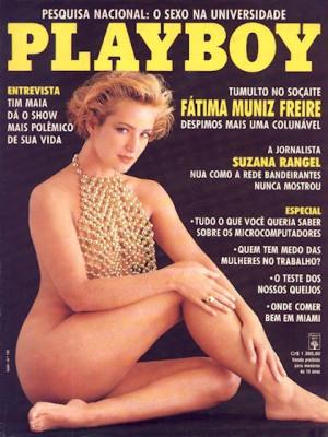 Playboy Brazil - July 1991