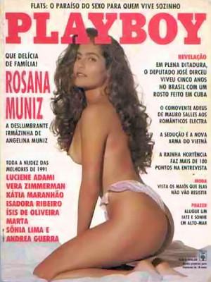 Playboy Brazil - Jan 1992