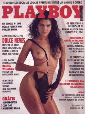 Playboy Brazil - March 1992