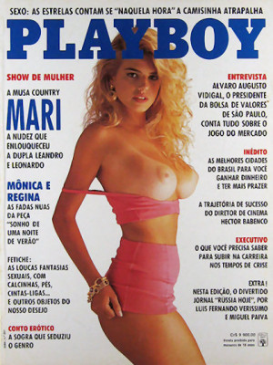 Playboy Brazil - April 1992