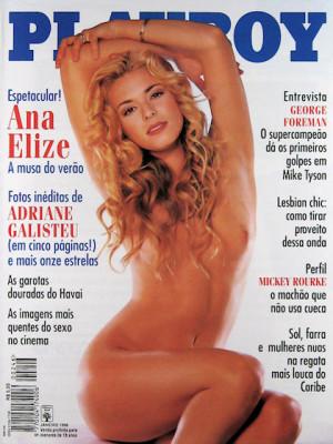 Playboy Brazil - Jan 1996