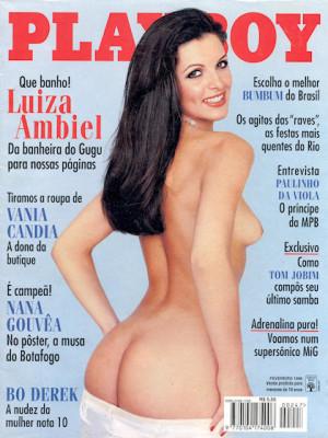 Playboy Brazil - Feb 1996