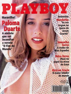 Playboy Brazil - April 1996