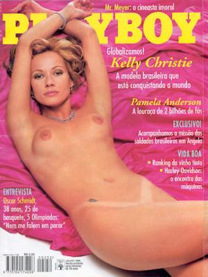 Playboy Brazil - July 1996