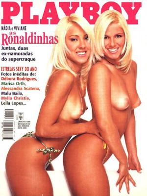 Playboy Brazil - Jan 1998