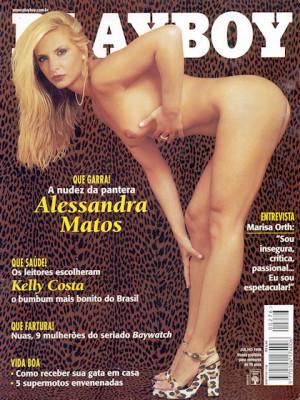 Playboy Brazil - July 1998