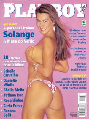 Playboy Brazil - Jan 1999