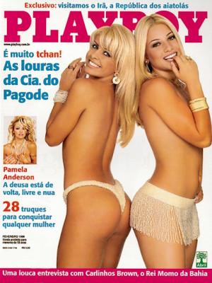 Playboy Brazil - Feb 1999