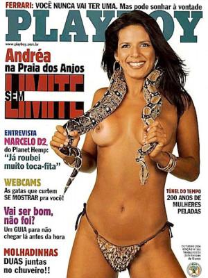 Playboy Brazil - Oct 2000