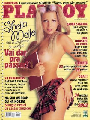 Playboy Brazil - Jan 2002