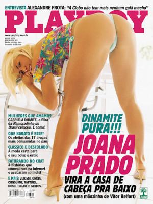 Playboy Brazil - April 2002