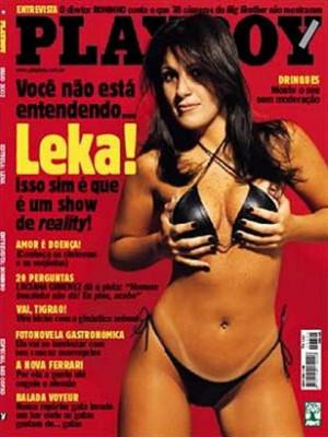 Playboy Brazil - May 2002
