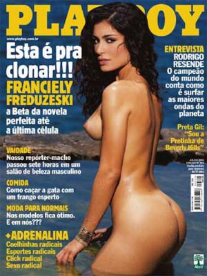 Playboy Brazil - July 2002