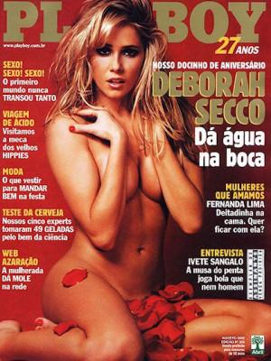 Playboy Brazil - August 2002