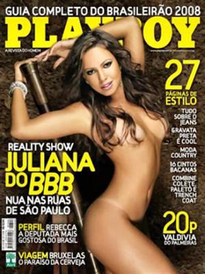 Playboy Brazil - May 2008