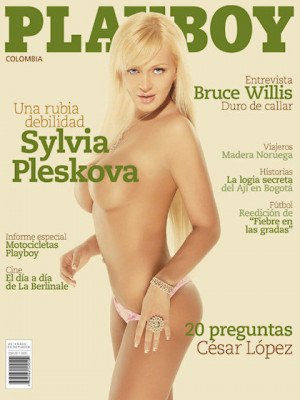 Playboy Colombia - Apr 2008