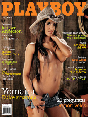 Playboy Colombia - May 2008