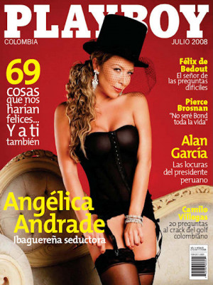 Playboy Colombia - July 2008