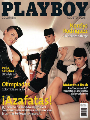 Playboy Colombia - Aug 2008
