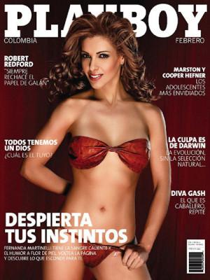 Playboy Colombia - Feb 2009