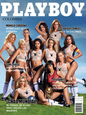 Playboy Colombia - July 2010