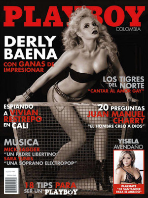 Playboy Colombia - Aug 2011