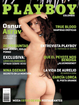Playboy Colombia - Oct 2011