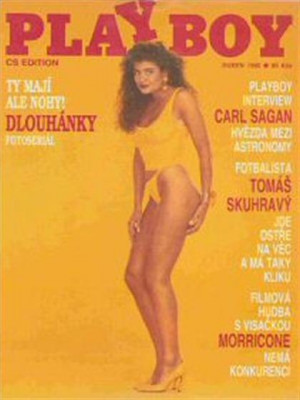 Playboy Czech Republic - April 1992