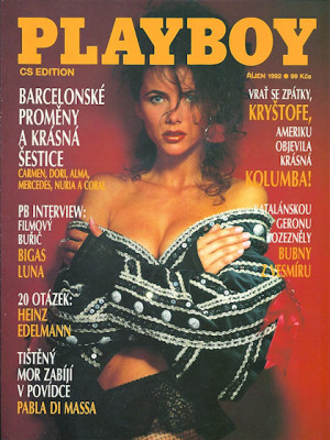 Playboy Czech Republic - October 1992