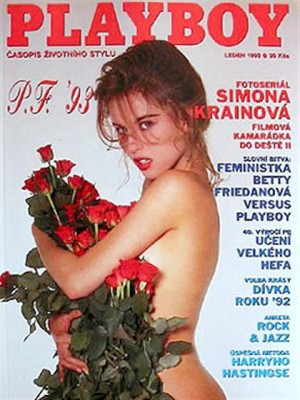 Playboy Czech Republic - January 1993