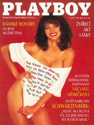 Playboy Czech Republic - Sep 1993