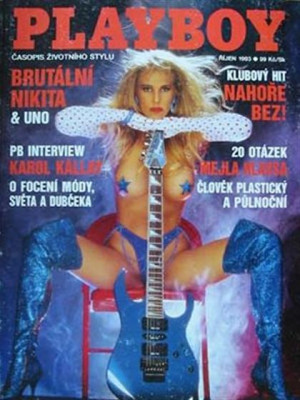 Playboy Czech Republic - Oct 1993