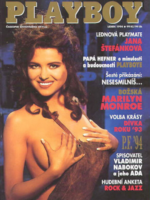 Playboy Czech Republic - Jan 1994