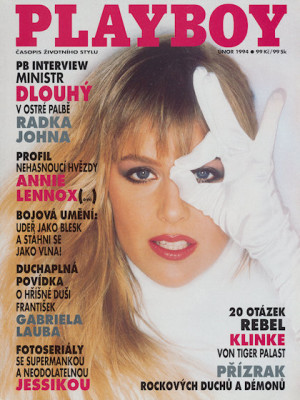 Playboy Czech Republic - Feb 1994