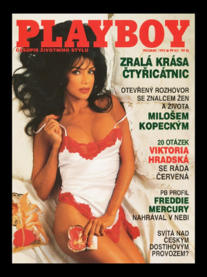 Playboy Czech Republic - December 1995