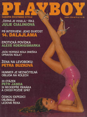 Playboy Czech Republic - Apr 1996