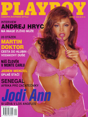 Playboy Czech Republic - Aug 2000