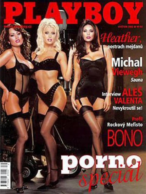 Playboy Czech Republic - May 2002