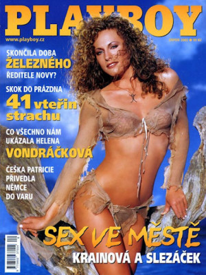 Playboy Czech Republic - Aug 2002