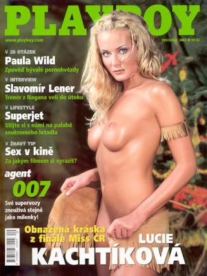 Playboy Czech Republic - Dec 2002