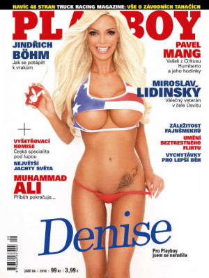 Playboy Czech Republic - Sep 2016