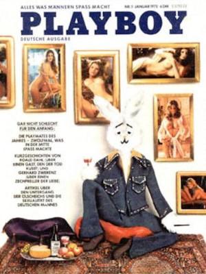 Playboy Germany - January 1975