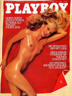 Playboy Germany - Sep 1981