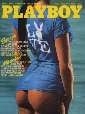 Playboy Germany - March 1982