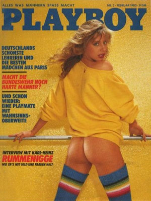 Playboy Germany - Feb 1983