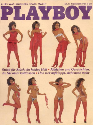 Playboy Germany - Nov 1983