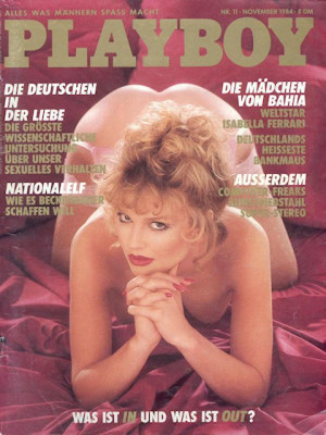Playboy Germany - Nov 1984