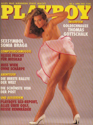 Playboy Germany - April 1985